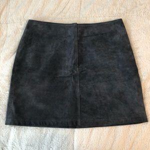 Warehouse London Leather Mini Skirt